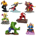 disney marvel universe exclusive figurine playset