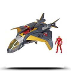 Buy Now Marvel Quinjet Attack Vehicle With Iron