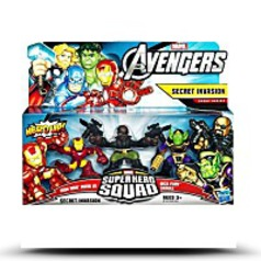 Marvel The Superhero Squad Secret Invasion