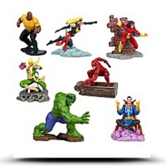 Marvel Universe Exclusive 7PIECE Pvc