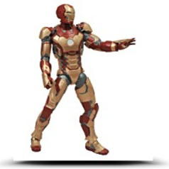 Toys Marvel Select Iron Man 3 Movie