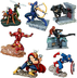disney exclusive marvel avengers figurine playset