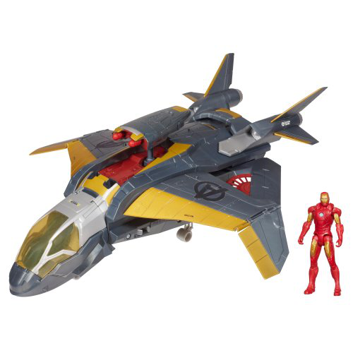 Marvel Quinjet Attack Vehicle With Iron